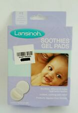 Lansinoh Soothies Gel Pads Soothing Reusable New in Box Breastfeeding Nursing