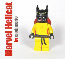 LEGO Custom - Hellcat - Marvel Super heroes wolverine deadpool mini figure