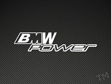 BMW M Power Car Sticker M3 M5 E36 E39 etc Decal