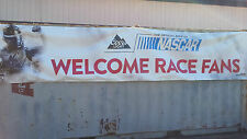 COORS LIGHT WELCOME RACE FANS official beer of NASCAR..  20 FOOT BANNER
