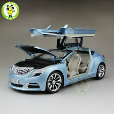 1:18 US GMC Buick Riviera 2009 Diecast Car Model Blue