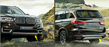 PU front+rear bumper skid protector guard plate for for BMW X5 F15 2014 2015