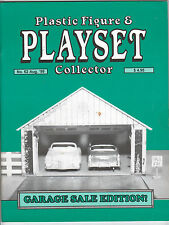 Plastic Figure & Playset Collector #62, Marx Garages, PFPC