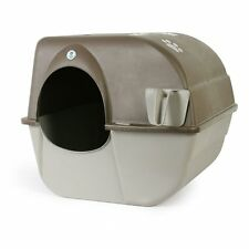 Large Cat Litter Box Pet Big Kitty Clean Self-Cleaning No-Electricity Households