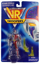 VR TROOPERS - Figurine RYAN STEELE Saban's KENNER 1994 Neuf Moc Rare Metalder