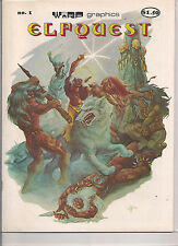 Elfquest #1 Comic Book Magazine from 1978.