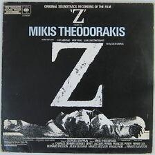 Costa-Gavras Mikis Theodorakis 33 Tours Yves Montand 1969