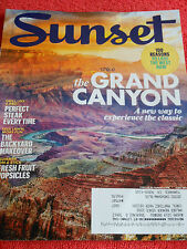 SUNSET MAGAZINE JUNE 2013 REASONS TO LOVE THE WEST GRAND CANYON GRILL LIKE A PRO