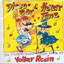 Volker Rosin-discobär & streghe DANZE-CD ALBUM NUOVO-Bambini canzoni discoteca Show
