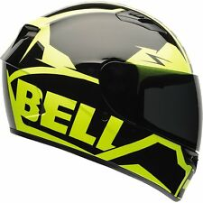 Bell Qualifier Full Face Street Bike Motorcycle Helmet S Hi Viz