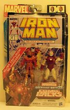 Marvel Universe Iron Man Silver Centurion Mandarin Figures Greatest Battles