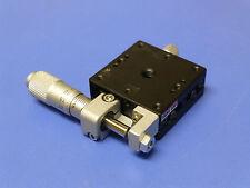 OptoSigma / Sigma Koki TSD-401SR Linear Translation Stage with Micrometer, 13mm