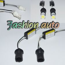 1 Pair T10 194 168 LED Load Resistor Decor Adapter Connector for Car