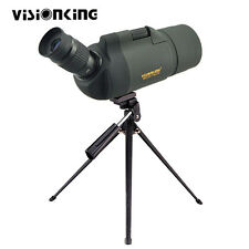 Visionking 25-75x70 Maksutov MAK Angled Spotting Scope Bak4 w/ Tripod Case Green