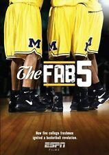 ESPN Films - The Fab Five [DVD] NEU Rose Chris Webber Howard 5 Basketball NBA