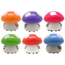 Mushroom Shaped New Portable Corner Desk Vaccum Cleaner Mini Cute Vacuum Color