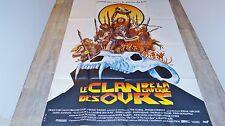LE CLAN DE LA CAVERNE DES OURS  !  affiche cinema  , bd dessin druillet