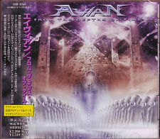 AVIAN The Depths of Time  + 1 Japan CD 1st 2006 Megadeth BALANCE OF POWER US
