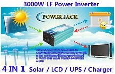 4 IN 1 Solar/LCD/UPS/Charger 12000W/3000W LF PSW 24VDC/240VAC 50Hz PowerInverter