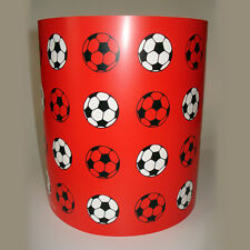 Children's Boy's Lighting Red Football Ceiling Light or Lamp Shade medium