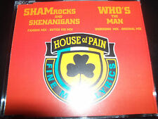 House Of Pain Shamrocks & Shenanigans / Who's The Man (UK) CD Single – Like New
