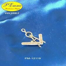 Bomboniera Laurea segnaposto Compasso con righello zama argentato PM-12119