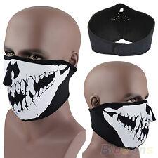 Modish Skull Neoprene Half Face Mask Ski Skate Snowboard Motorcycle Protection