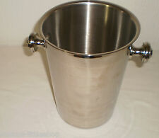 German Gebruder Hepp Exclusiv 18/10 Champagne Wine Drinks Ice Bucket Cooler
