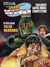 DOCTOR WHO MAGAZINE #149 THE ICE WARRIORS, INVADERS FROM GANTAC