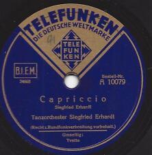 Tanzorchester Siegfried Erhardt : Yvette + Capriccio