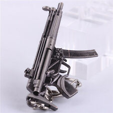 New Cross Fire CF Submachine Gun MP5 Miniature Weapon Model Keychain KeyRings
