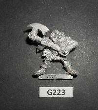 Warhammer Citadel ORC1 WARRIOR ORCS HURT - ORC WITH AXE 1987 Journal G 223
