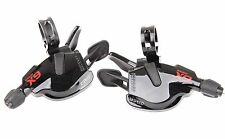 SRAM X9 Trigger Shifter Set (Front & Rear) Black/Red W/Clamp New