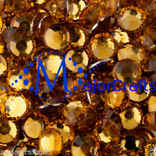 3000pcs Orange Gold 2.5mm ss8 Flat Back Resin Rhinestones Nail Art DIY Gems C23