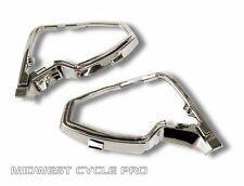 Chrome Mirror Bases for Honda Goldwing GL1500 by Add On Accessories (15673-463)