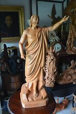 """Hand Carved Wood  Statue of """"The Risen Christ""""(Resurrection) Jesus 40''"""