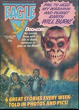 EAGLE British weekly comic book November 27, 1982 VG+