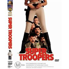 SUPER TROOPERS-André Vipolis-Region 4-New AND Sealed