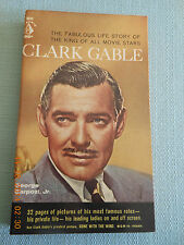 Vintage Paperback, PBO, Pyramid, Biography, Clark Gable