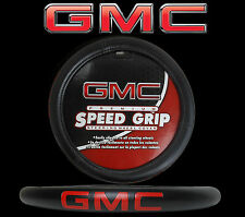 GMC Premium Speed Grip Black Steering Wheel Cover