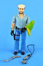 "COBRA GI JOE Shipwreck 3.75"" ACTION FIGURE 1985 VINTAGE 100% COMPLETE 3 3/4 - T1"