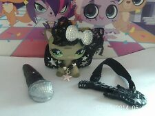 accessories for littlest pet shop popstar outfit guitar mic lps cat not included