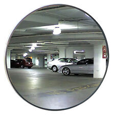 "#1 Industrial Rated 36"" Acrylic Indoor/Outdoor Convex Mirror Z Mounting Bracket"