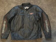 Harley Davidson Men's Classic Leather Jacket 2XL 98000-10VM