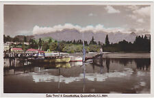 RPPC,Queenstown,New Zealand,Lake Front & Remarkables,So.Island,c.1930s