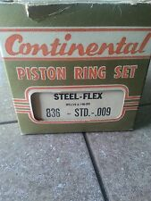 NOS Willys piston rings for 3 inch bore 6 cylinders