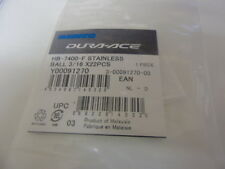 Shimano HB-7400-F stainless ball bearings Y00091270 22x 3/16""