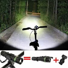 Cycling Bicycle Bike Light 3000 Lumen Zoomable CREE XM-L Q5 LED Flashlights Lamp