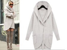 Fashion Women's Slim Long Coat Jacket Windbreaker Parka Outwear Cardigan Coat