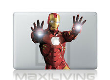 "Hülle Case Aufkleber Sticker Schutzfolie Apple Macbook 11"" Iron Man 2"